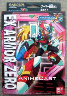 Armor Zero Mega Man Toy Figure Megaman Bandai Discontinued Item