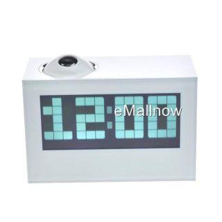 Design Large LED Projection Digital Alarm Table Desktop Clock W
