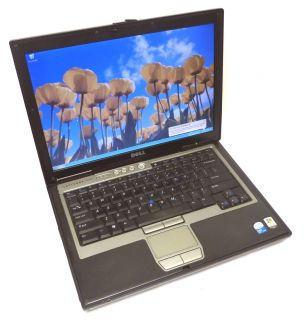 Dell Latitude D620 Laptop Intel Core Duo 1 83GHz 1 GB 250GB HDD