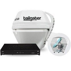 Dish Network DISH Tailgater Portable Satellite TV Antenna & ViP 211k