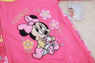 Disney Baby Toddler Girls Sleeper Footed One Piece Pajamas Size 6M