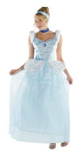 12 14 Adult Deluxe Cinderella Costume Disneys Cinderella Costu