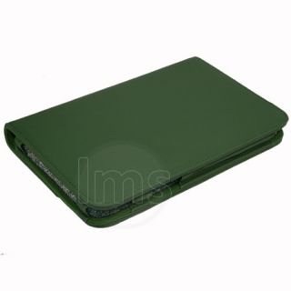 Green Executive Genuine Leather Case for Dell Streak 7