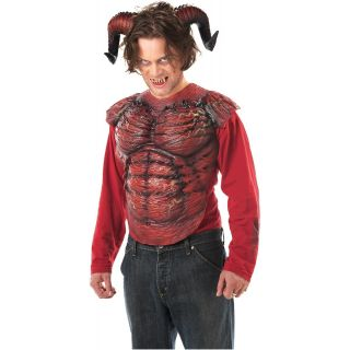 with Teeth Adult Mens Devil Kit Halloween Costume Accessory