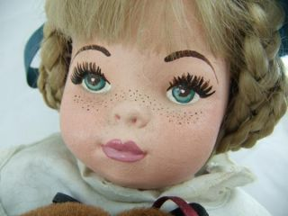 Devlin  OOAK 21 Cloth Doll by American Artist Lynn Laber from The
