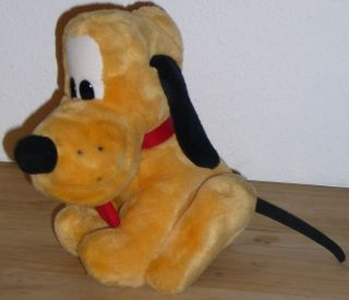 WoW Disney PLUTO DOG Soft Plush Original Toy Doll from Disneyland