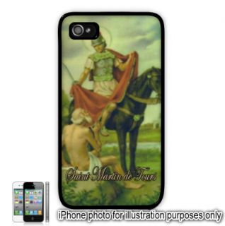 Saint St Martin de Tours Photo Apple iPhone 4 4S Case Cover Skin Black