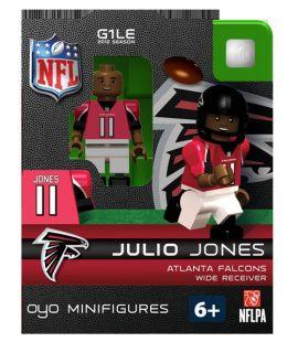 Jones OYO Mini Fig Figure Lego Compatible Atlanta Falcons NIP