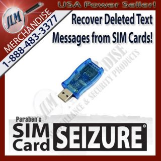 Forensic USB Sim Card Data Reader Device Cell Phone Spy Recover