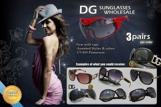 Pairs of DG Sunglasses Hot New Womens Designer Fashion Eyewear