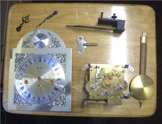 Wall Clock Westminster Chime Movement Spare Project Dial Gong