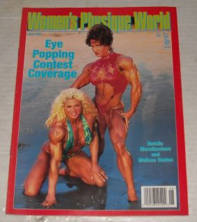 1998 Womens Physique World Bodybuilding Magazine Denise Masino
