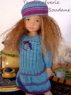 CREATIONS PDF KNITTING PATTERN 13 DOLLS LITTLE DARLING DIANNA EFFNER