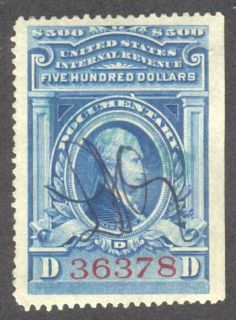 documentary tax revenue stamp scott r249