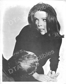 Diana Rigg 8x10 Promotional Still Drops Man on Floor FN