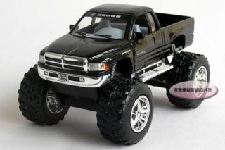 New Dodge RAM 1 44 Diecast Model Car Avoid Shock with Large Wheels