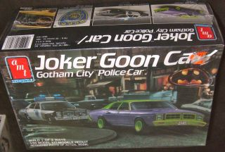 AMT ERTL 1977 DODGE MONACO POLICE CAR JOKER GOON 125MODEL KIT #6826