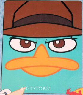 Disney Agent P PERRY Platypus Phineas & Ferb Fleece Throw Blanket THIN