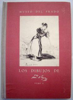 Museo Del Prado Los Dibujos de Goya 1954 HC Book