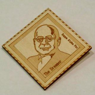 Laser Cut Kappa Alpha Psi Frat Lapel Pin Founder Elder Watson Diggs