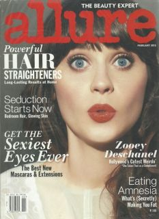 Magazine February 2012 Zooey Deschanel, Seduction Starts Now   Sealed