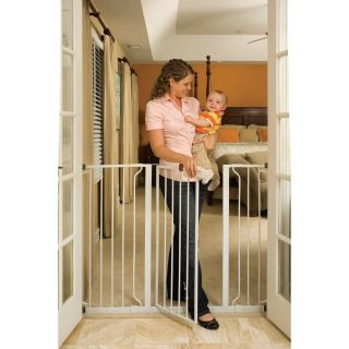 Tall Super Wide Metal Safety Baby Dog Pet Gate Pressure Mount
