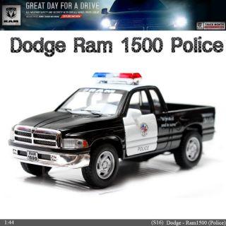 Dodge RAM Police 1 44 5 Diecast Mini Cars Toys Kinsmart KT5018P No