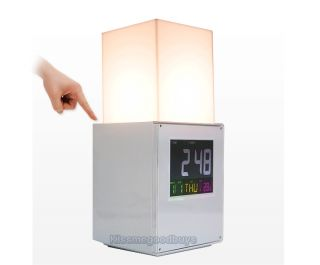 Gadgets Trendy Touch Raise & Drop Desk Lamp LED Digital Alarm Clock /1