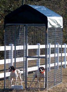 ShelterLogic Modular Dog Kennel w Cover 8 x 4 x 710