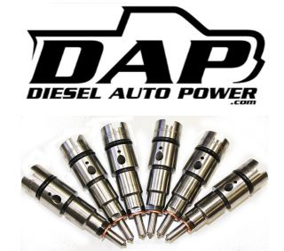 Injectors Dodge RAM Cummins 24V 1998 2002 Diesel 250 HP