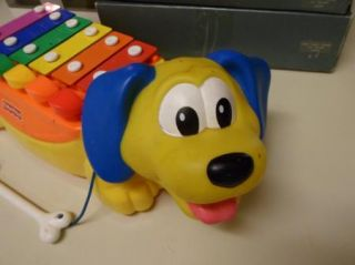 Xylophone Music Musical Dog Pull Along Toy Toddler Educational