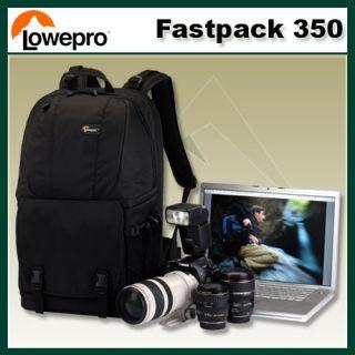 Lowepro Fastpack 350 Black DSLR Digital Camera Backpack & 17 Notbook