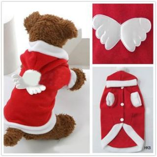 Christmas shirt Hoodie Tee small dog pet clothes Apparel XS S M L