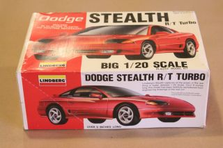 Lindberg 1 20 Model Dodge Stealth R T Turbo New