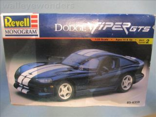 Dodge Viper GTS Revell Plastic Model Car 1 25 Scale Kit
