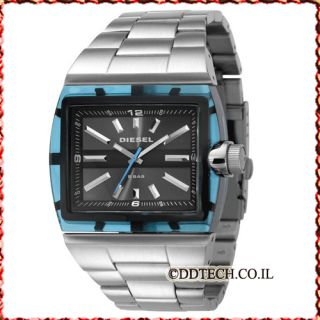 New in Box Diesel Classic Azure Blue Mens Watch DZ1345