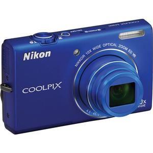 Nikon Coolpix S6200 Digital Camera (Blue)   Factory Refurbished