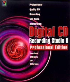 Digital CD Recording Studio II 2 Pro Professional PC CD music audio