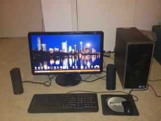 Dell INSPIRON i560 Intel Duo 2 Core e7500 2 93GHZ 8GB MEMORY 1TB HD 23