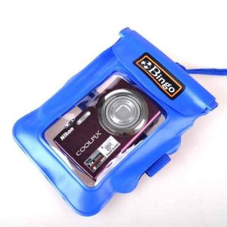 Blue Underwater Digital Cameras Phone Waterproof Case
