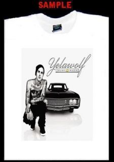 Yelawolf Custom Photo T Shirt Tee Trunk Muzik Rap 1564