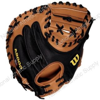 Wilson A2403 1790 SS Baseball Catchers Mitt 34 With SuperSkin