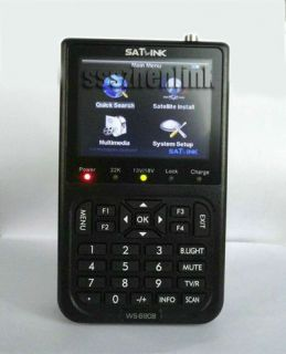 LCD DVB s FTA Professional Digital Satellite Finder Meter TS
