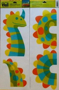 Dinosaur Sea Creature Removalbe Vinyl Wall Stickers Decal New Design