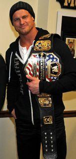 WWE Dolph Ziggler Elite Series 13 Heavyweight Championship Belt