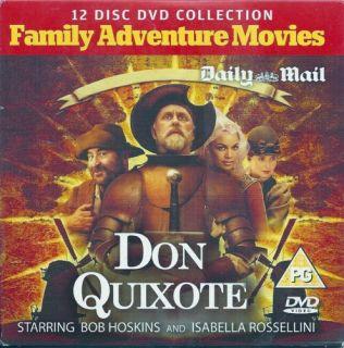 Don Quixote DVD starring John Lithgow Bob Promo 5018011201755