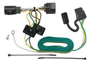 Reese 4 Way Trailer Hitch Wiring Light Kit Plug Play