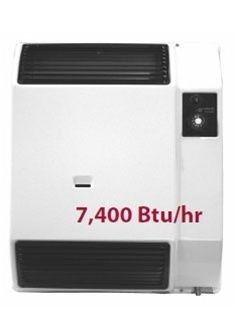 400 BTU High Efficiency Direct Vent Wall Furnace Propane LP