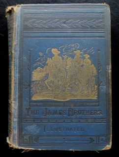 Outlaws of The Border Frank Jesse James 1882 Book by Jay Donald