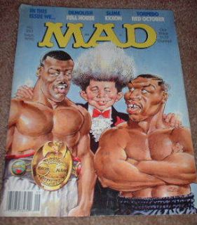 Mad Magazine 1990 Don King 297 Tyson Boxing Neuman See